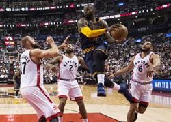 NBA》欺敵戰術失敗 騎士再掃暴龍聽牌