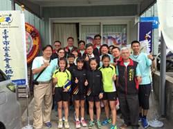 中市羽球錦標賽 教育局盼帶動城市運動風氣