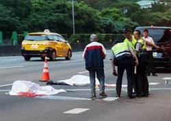 中山高速公路工人施工遭貨車撞擊  兩死