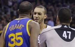 NBA》怒批尺度!杜蘭特:難怪NBA被說打球軟