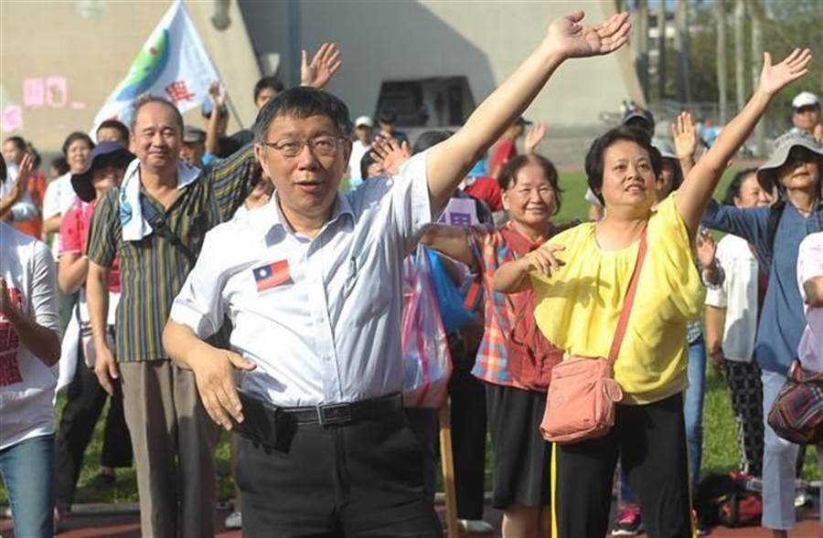 台北市長柯文哲。(圖/季志翔)
