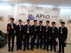 亞洲物理奧林匹亞競賽 我得團體第3名