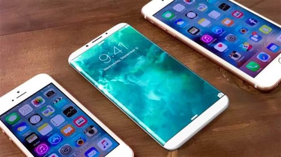 iPhone 8概念圖。(圖/翻攝9to5mac)