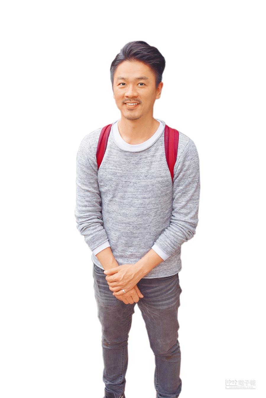 「外木山‧青春逗」主要負責人魏孝儒。(賴至巧攝)