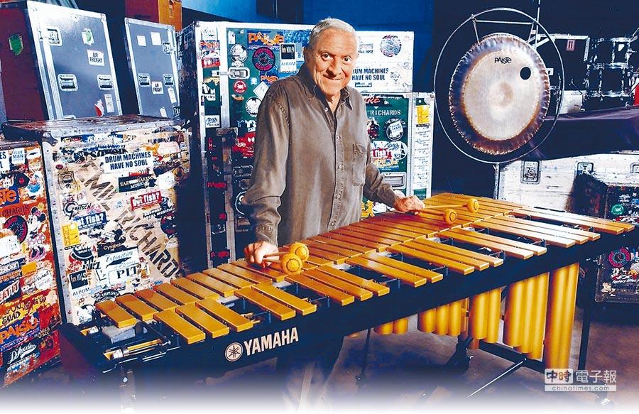 埃米爾‧理查斯是好萊塢知名資深爵士鍵盤音樂家。(擊樂文教基金會提供)