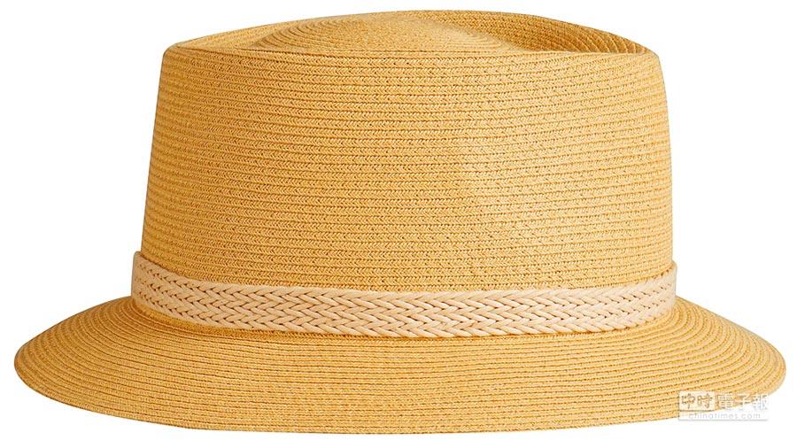 HERMES Malo系列紙織、繩織與Hunter母牛皮拼接男帽,2萬3200元。