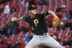 MLB》曾換韌帶、遭球暴頭 海盜25歲右投如今罹癌