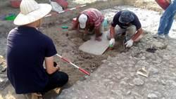 左營舊城出土清代石碑文化局見城計畫推公眾考古