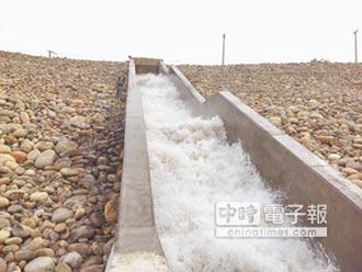 中庄調整池 挹注桃板新供水