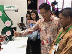 黃志芳向印尼推銷台灣:經濟發展好夥伴