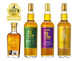 第22屆ISC國際烈酒競賽 台灣噶瑪蘭 奪4金