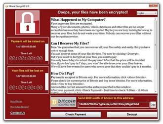 勒索程式 竟起源於美國國安局駭客武器