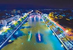 鹿港慶端陽 夜晚賽龍舟