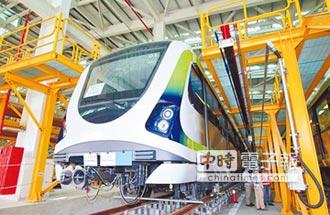 中捷18列電聯車 年底前全數交車