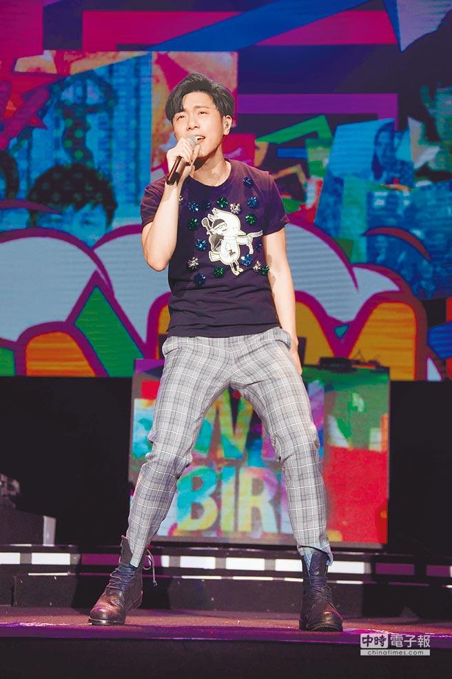 韋禮安在大陸廣州首唱。