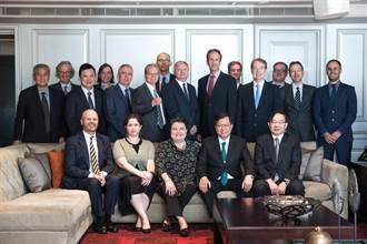 歐洲經貿辦事處馬澤璉處長 邀請桃園市長鄭文燦參加「歐盟會員國駐台代表餐會」