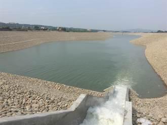 石門水庫中庄調整池 開始蓄水