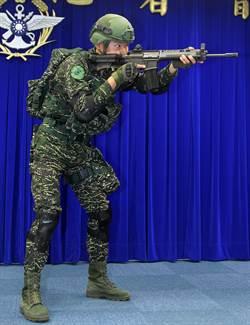 陸戰隊數位虎斑迷彩軍服首度亮相 明年換裝