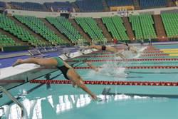 全台首座 世大運活動式泳池今啟用