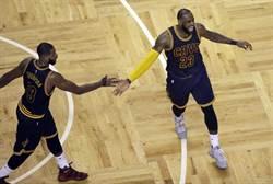 NBA》詹皇無敵 騎士橫掃塞爾提克摘東決首勝