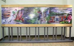 台南文創園區 全國最大飛針繡屏風「新台南八景」