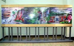 臺南文創園區2週年 展全國最大飛針繡屏風
