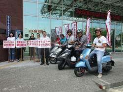 國中會考520登場 麻豆公所組機車巡檢隊維護考生安寧