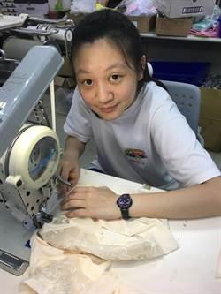 作夢都在車縫 17歲少女獲全國技能競賽分區銀牌