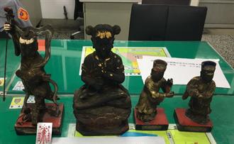 四尊神像失竊 神明指示竊嫌出沒地點找回