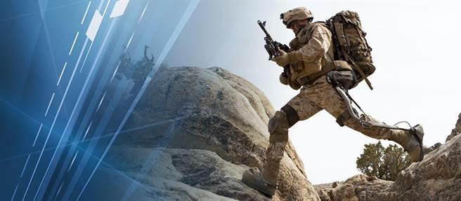 洛克希德馬丁公司的K-SRD,使士兵在山區行軍較輕鬆。(圖/洛馬公司)