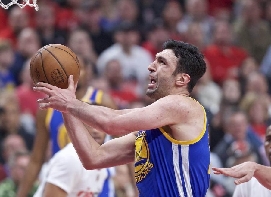 帕楚利亞在2017年西區季後賽決賽的「一腳」改變了NBA格局,但也改變了自己的命運。(美聯社資料照)