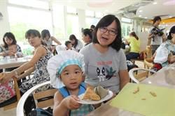 擔心幼童吃粽難消化 育兒中心研發吐司粽