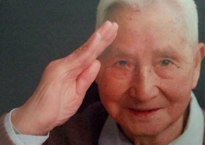 前中美混合團飛官、抗戰老兵戴自瑾於昨日逝世,享壽102歲。(圖/大陸網站)