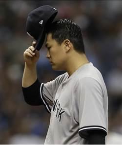MLB》洋基田中將大真沒傷?挨3轟遭光芒擊潰