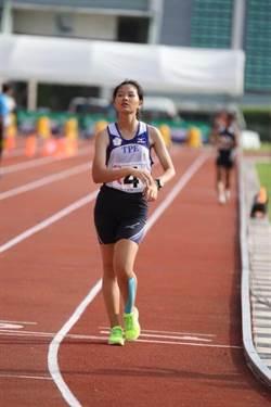 鄔惟喬「走」出台灣第一面亞洲競走金牌