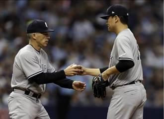 MLB》田中將大二連爆 洋基教頭:看不出有傷