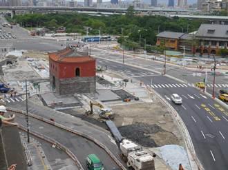 用路人注意!台北市北門周邊調整路型