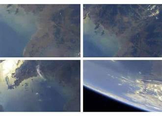 炫耀新飛彈科技 北韓公布太空拍地球照