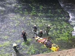 中市63歲男子墜落環河路溪床 搶救不治