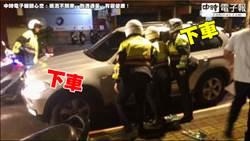 深夜聚餐後駕車返家 拒盤查遭警方破窗拉出