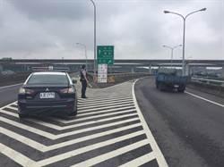 端午連假 27日台66線17K匯入國一匝道封閉