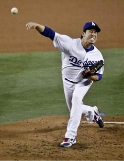MLB》前田健太5局好投奪第8勝 率道奇11連勝