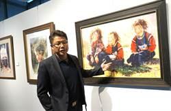 藏族肖像畫家劉雲生「磐鈺雲華」首開展