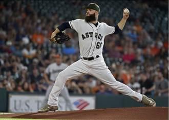 MLB》太空人王牌凱寇復出 宰低潮金鶯8連勝