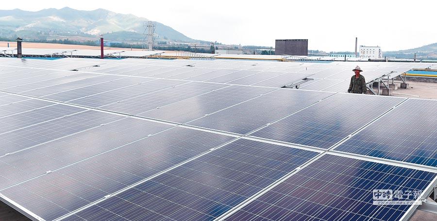 太陽能光電打造綠色經濟。(CFP)