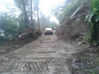 大鹿林道13K坍方處 搶通恢復雙向通車