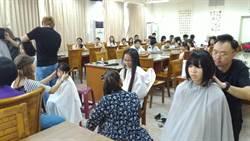 大雅國中學生 捐30公分長髮助癌友
