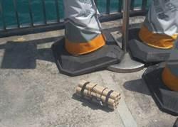 香港驚見「詐」彈 警方調查不排除恐攻