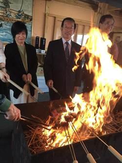 謝長廷首訪高知縣  縣知事尾崎介紹高知縣許多的日本第1