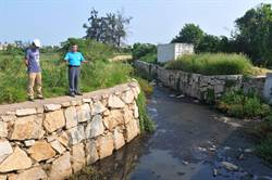 金門湖尾溪汙染 民眾:變「黑龍江」了